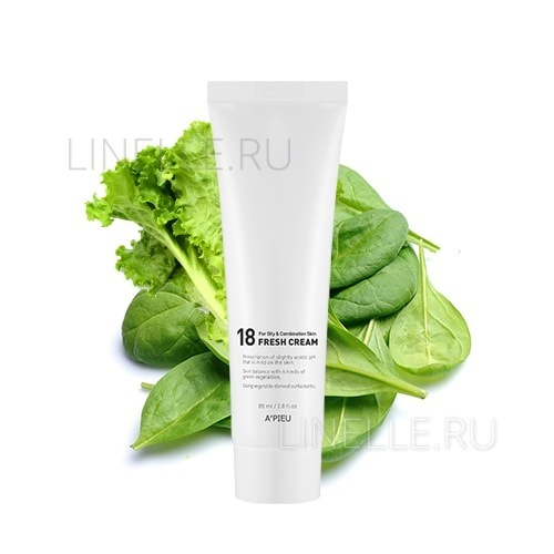 18 fresh cream (for oily&combination skin) [Крем для молодой кожи]