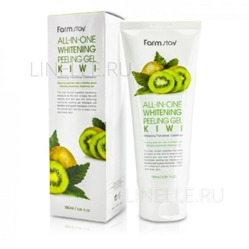 All-in-one whitening peeling gel kiwi [Пилинг-гель для лица на основе экстракта киви с отбеливающим эффектом]