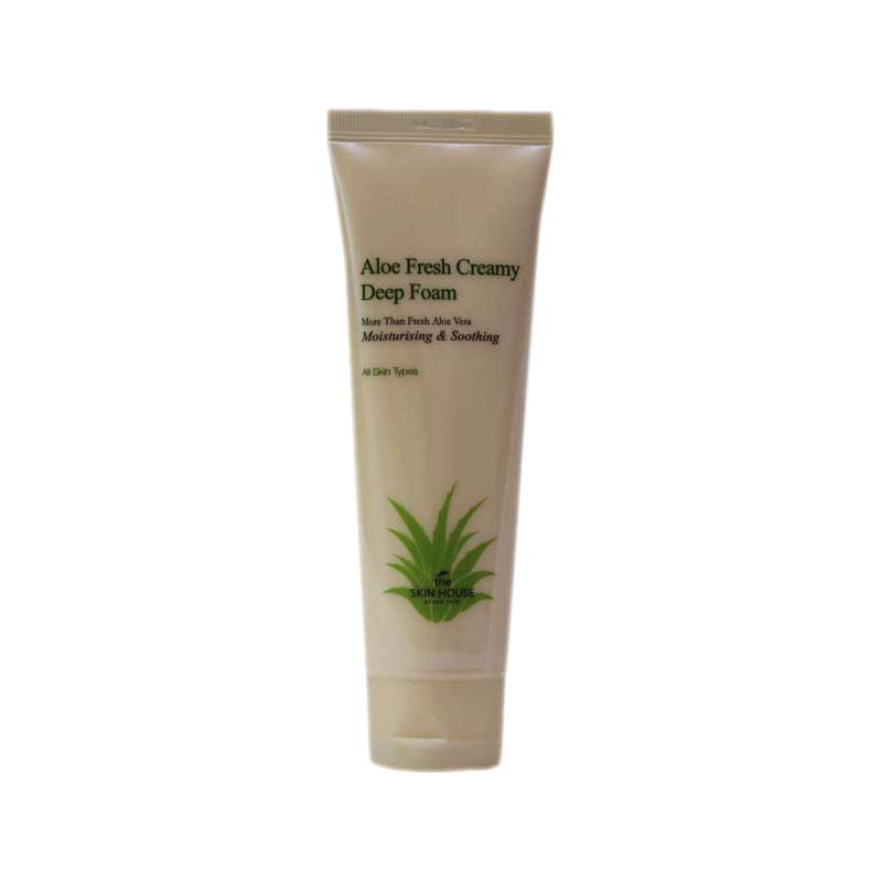 Пенка THE SKIN HOUSE Aloe fresh creamy deep foam