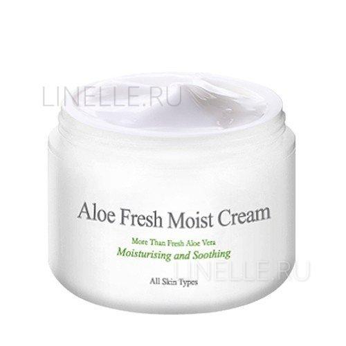 Aloe fresh moist cream [Крем для лица с экстрактом алоэ (для комбинированной и жирной кожи)]