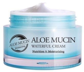 Aloe mucin waterful cream [Крем  с алоэ и улиточным секретом]