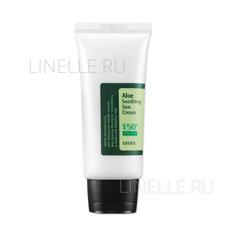 Aloe soothing sun cream spf50 pa    [Крем для лица солнцезащитный с алое]