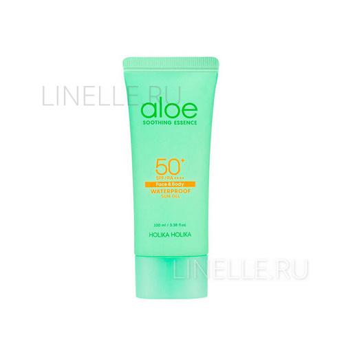 "Aloe water proof sun gel 50  [Солнцезащитный гель ""Алоэ Сан"", водостойкий]"