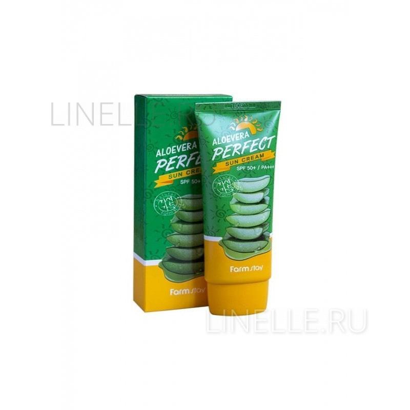 Aloevera perfect sun cream [Крем для лица и тела солнцезащитный]