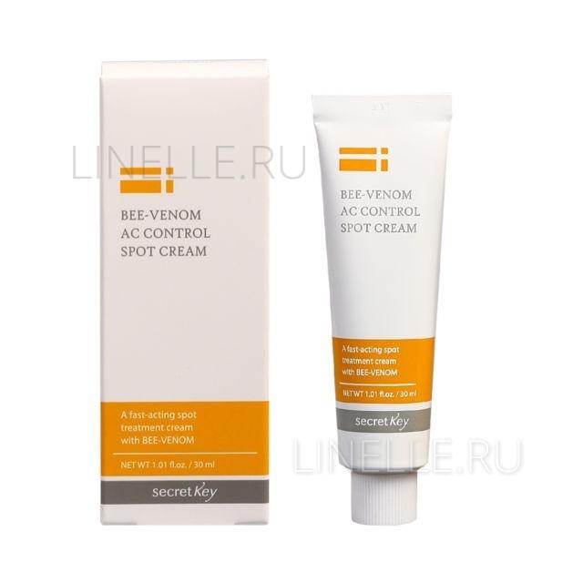 Bee venom ac control spot cream [Крем для проблемной кожи с пчелиным ядом]