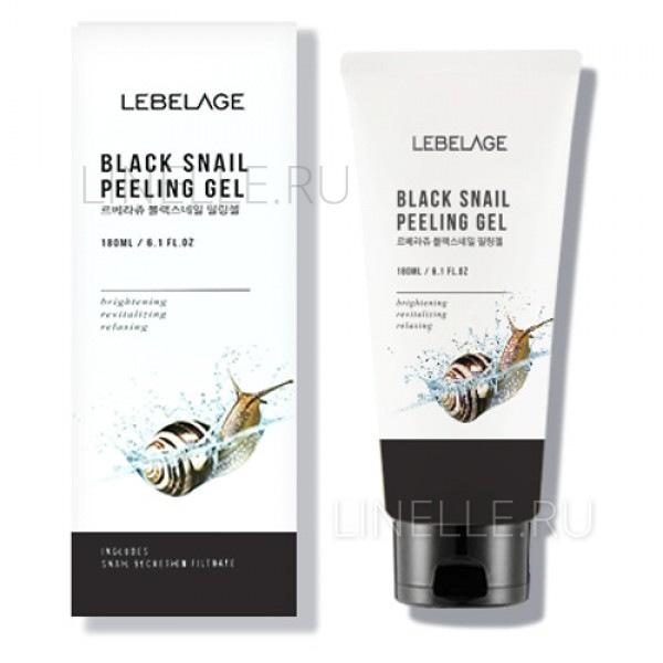 Black Snail Peeling Gel [Отшелушивающий гель с муцином улитки]