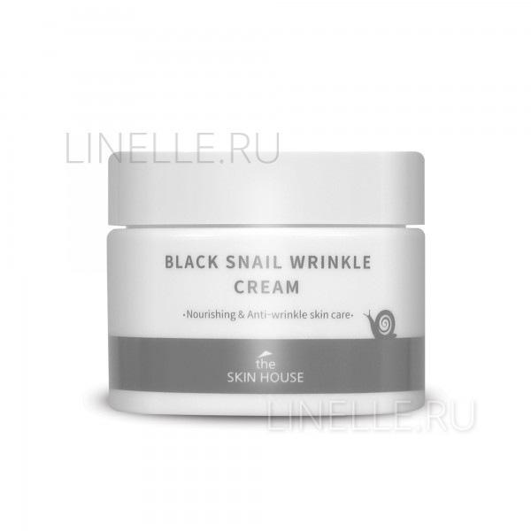 Black Snail Wrinkle Cream [Питательный крем с коллагеном и муцином черной улитки]