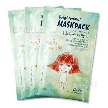 Brightening mask pack [Маска для лица на тканевой основе]