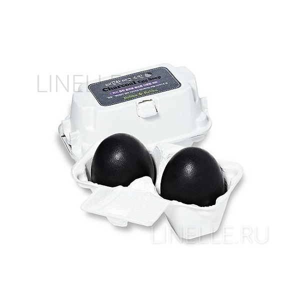HOLIKA HOLIKA Charcoal egg soap
