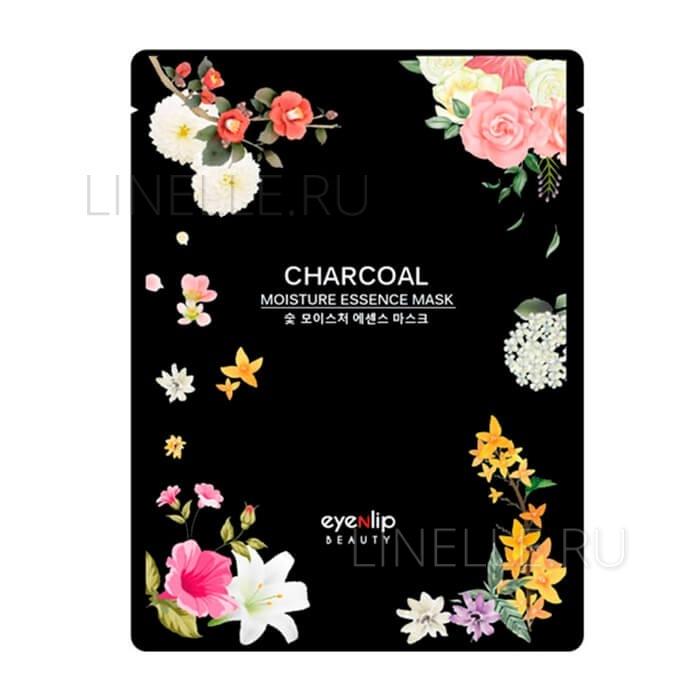 Charcoal oil moisture essence mask [Маска для лица тканевая]
