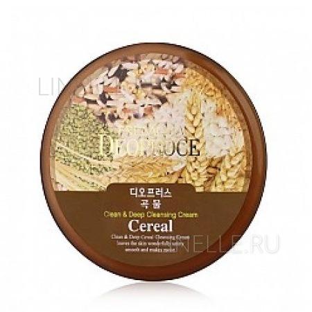 Clean & deep cereal cleansing cream [Крем для лица очищающий зерновой]