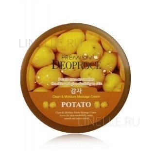 Clean & deep potato cleansing cream [Крем для лица очищающий с экстрактом картофеля]