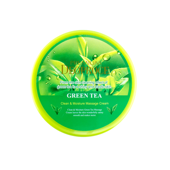Clean & moisture green tea massage cream [Крем массажный]