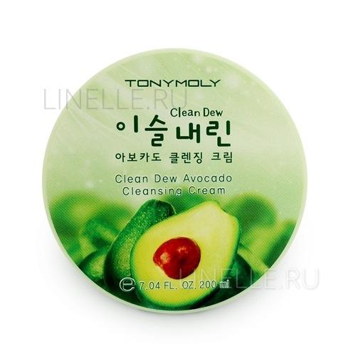 Clean dew avocado cleansing cream 2 [Крем для умывания с экстрактом авокадо]