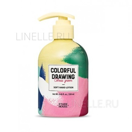 Colorful drawing soft hand lotion(colorful drawing) [Лосьон для рук]