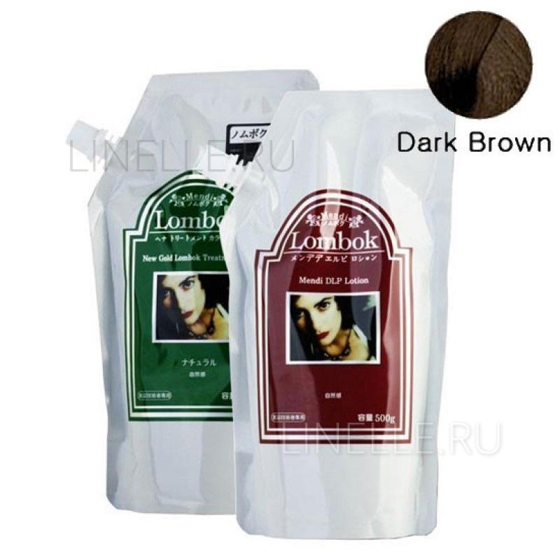 GAIN COSMETIC Dark brown lombok original set darkbrown