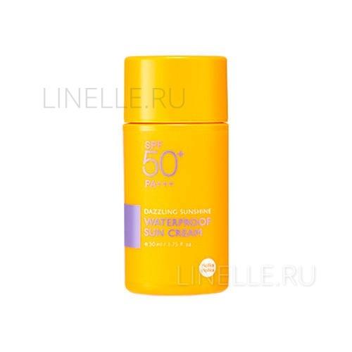 """Dazzling sun shine water proof sun cream ad [Солнцезащитный водостойкий крем """"Сияющие лучи"""" (новый дизайн)]"""