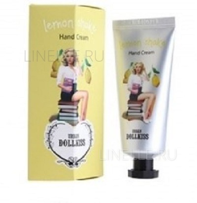 BAVIPHAT Dollkiss lemon shake hand cream