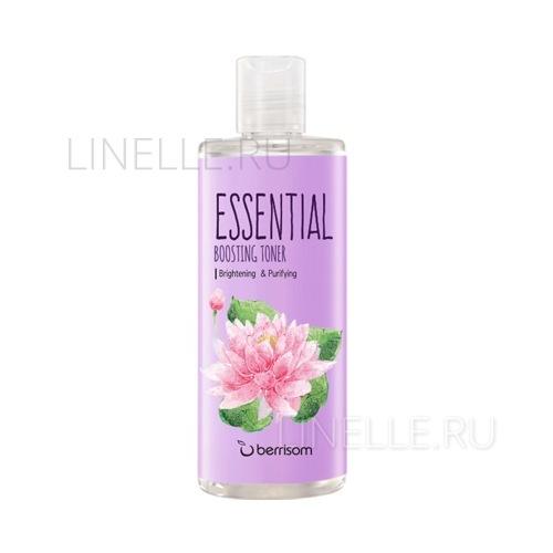Тоник BERRISOM Essential boosting toner - lotus