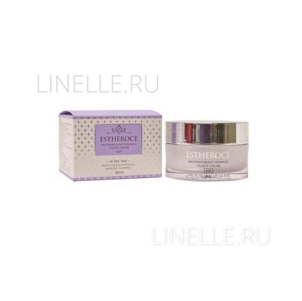 Estheroce whitening & anti-wrinkle power cream [Крем для лица омолаживающий ]