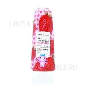 Fashiony fruit soothing gel - strawberry [Гель для лица и тела многофункциональный]