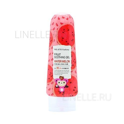 Fashiony fruit soothing gel - water melon [Гель для лица и тела многофункциональный]