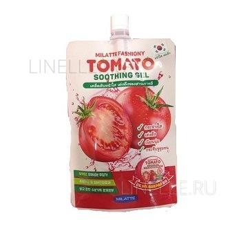 Fashiony tomato soothing gel pouch [Гель для лица и тела многофункциональный ]