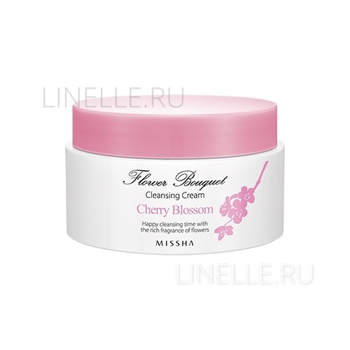 Flower bouquet cherry blossom cleansing cream [Крем очищающий для лица]