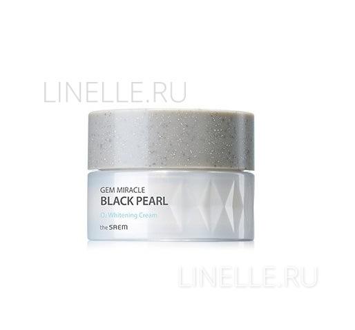 Gem miracle black pearl o2 whitening cream [Крем кислородный осветляющий]