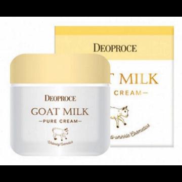 Goat milk pure cream [Крем для лица антивозрастной с экстрактом козьего молока]