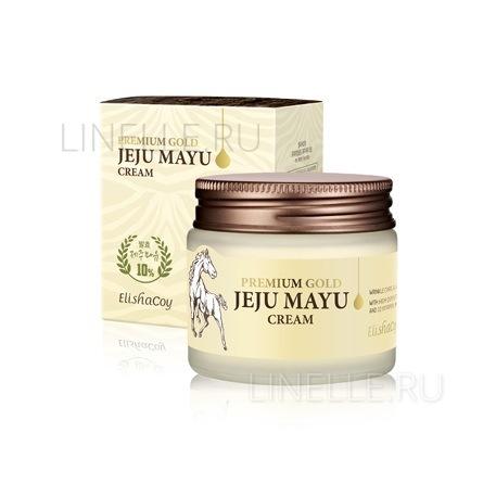 Gold mayu cream [Крем для лица с лошадиным жиром]