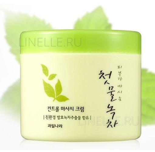 Green tea control massage cream [Крем массажный]