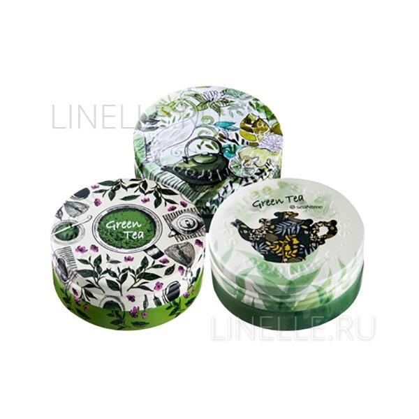 Green tea deep deep deep cream ex 3 in 1 set-1 [Крем для лица ультраувлажняющий]