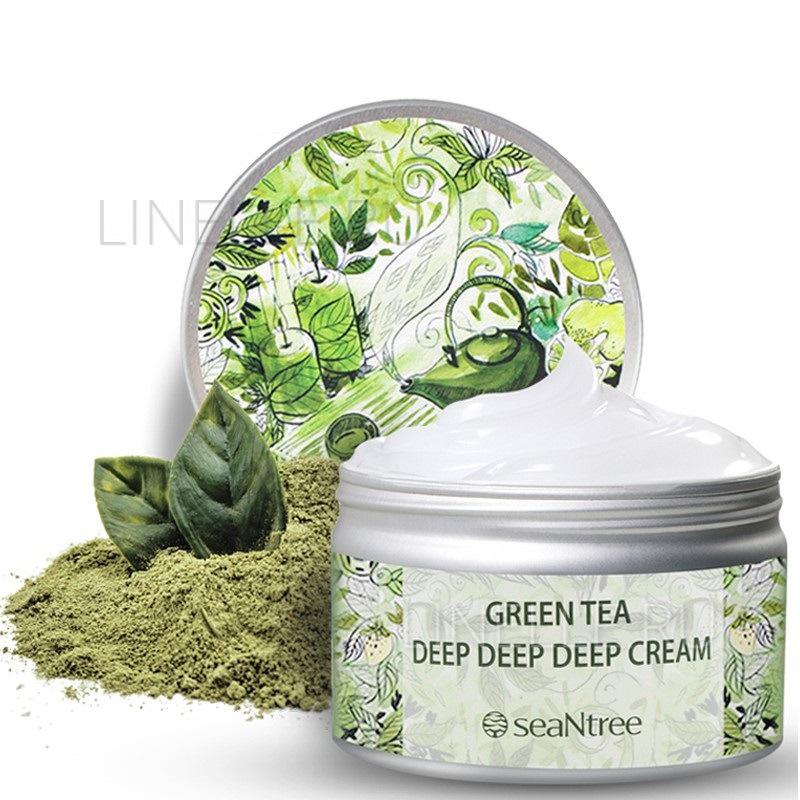Green tea deep deep deep cream ex(s)-s3 [Крем для лица ультраувлажняющий]