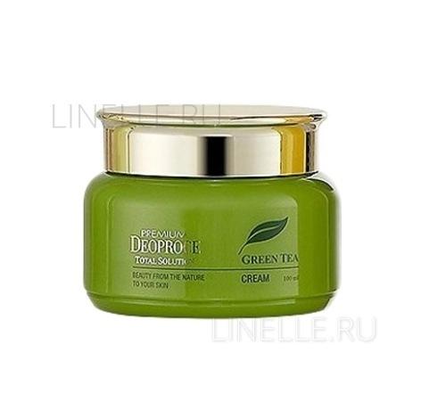 Greentea total solution cream 100 [Крем на основе зеленого чая ]