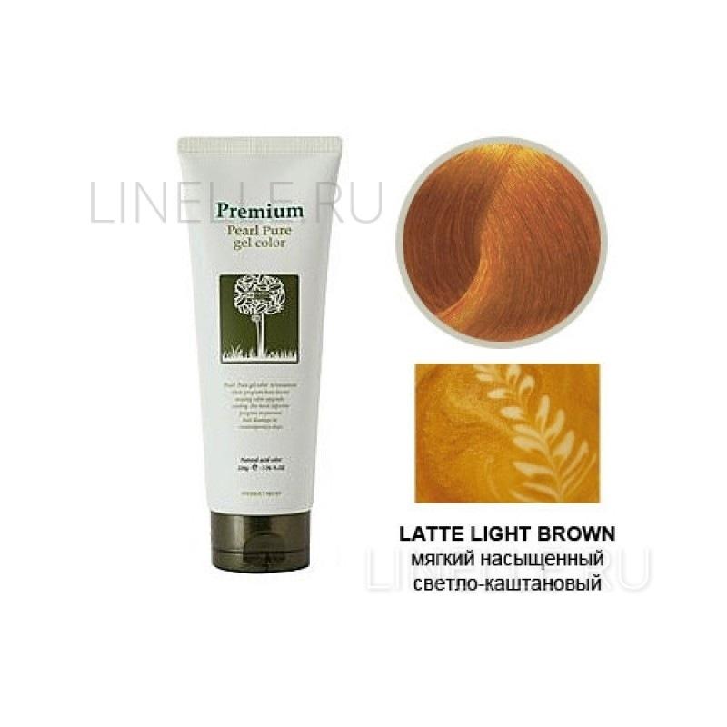 GAIN COSMETIC Haken premium pearll pure gel color-latte light brown