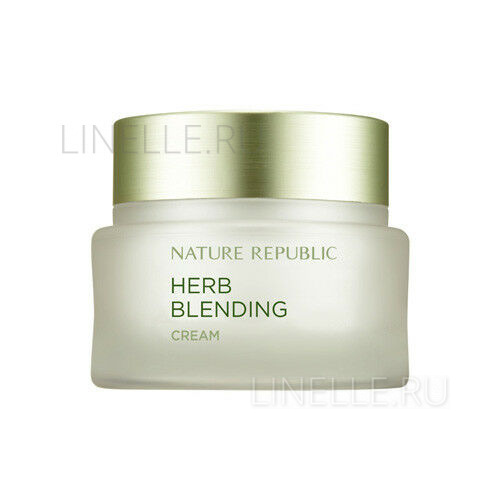 Herb blending cream [Крем для лица с травяными экстрактами]