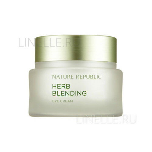 Herb blending eye cream [Крем для кожи вокруг глаз с травяными экстрактами]