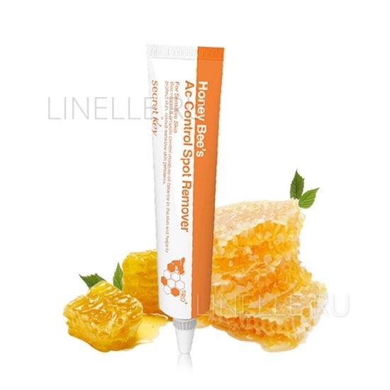 Honey bee's ac control spot remover [Гель для проблемной кожи лица, заживляющий акне]
