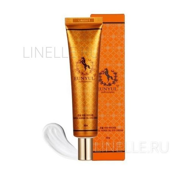 Horse Oil Eye Cream 30ml [Крем для кожи вокруг глаз с лошадиным маслом]