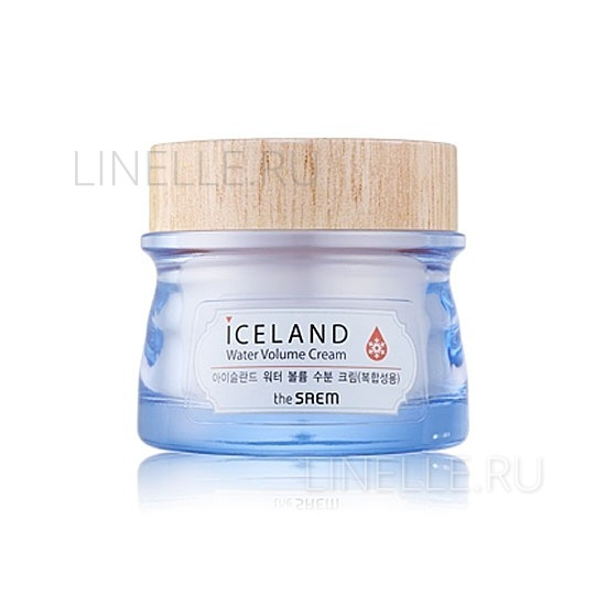 Iceland hydrating water volume cream (for combination skin) [Крем минеральный]