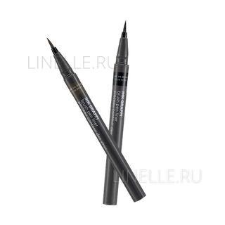 Ink graffi brush pen liner 02 ink brown [Подводка-фломастер для глаз 01]