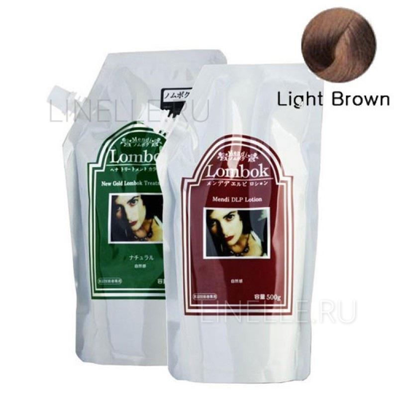 GAIN COSMETIC Light brown lombok original set light brown