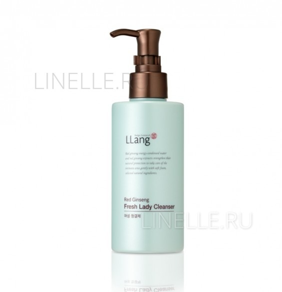 Пенка LLang Red ginseng fresh lady cleanser