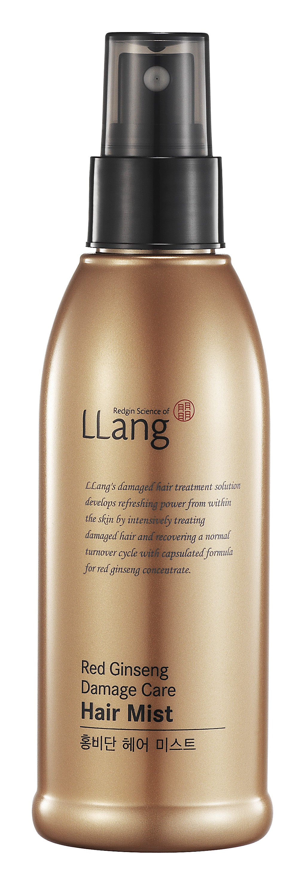 LLang Red ginseng damage care hair mist