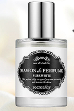 SECRET KEY Masion de perfume pure white