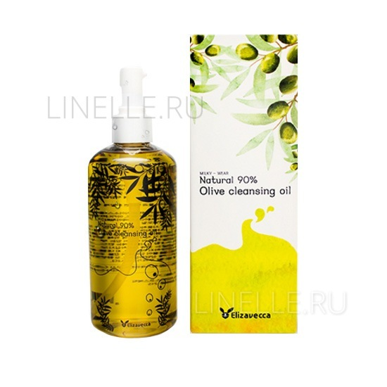 ELIZAVECCA Olive 90% cleansing oil