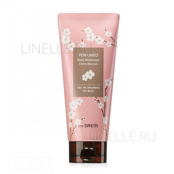THE SAEM Perfumed body moisturizer cherry blossom