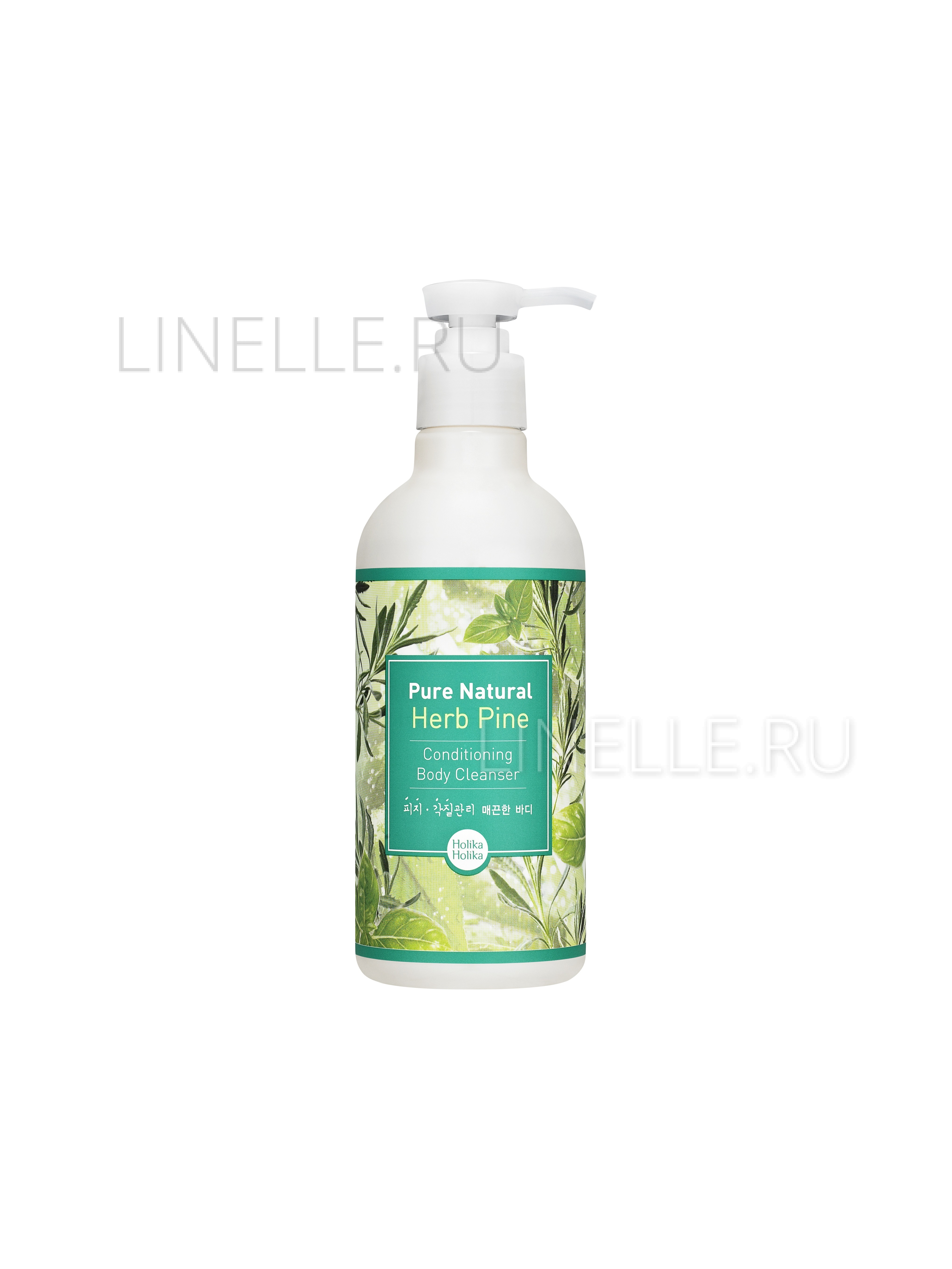 HOLIKA HOLIKA Pure natural herb pine conditioning body cleanser