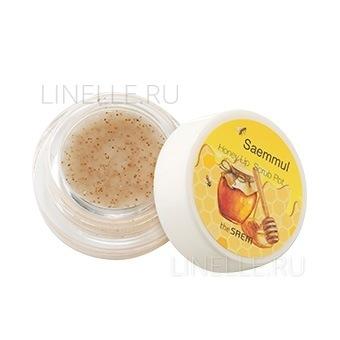 Saemmul honey lip scrub pot [Скраб для губ медовый]